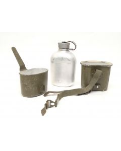 German Army Canteen and Cup Set