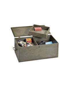 GI Wood Foot Locker with Trays