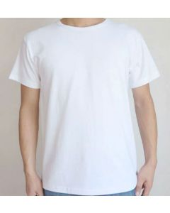 3 Pack of GI Issue White Crew-Neck T-Shirts