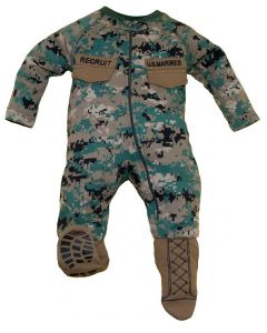 Infant Marine Onesie with Booties