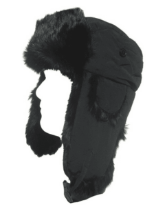 Klondike Sterling Rabbit Fur Aviator Style Hat