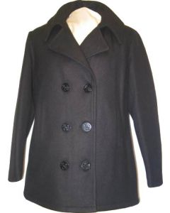Womans GI USN Genuine Peacoat
