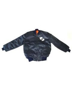 Reversible MA-1 Pilots Jacket With Epaulets