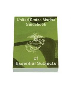 GI United States Marine Guidebook of Essential Subjects