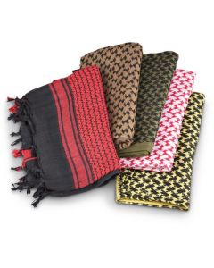 5 Pack Tactical Shemagh Scarves