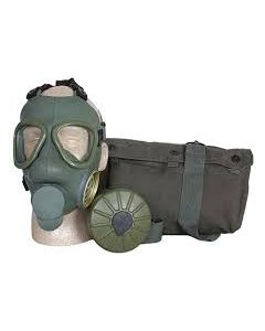 Serbian M1 Gas Mask Kit