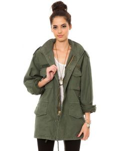Vintage Military Style M65 Field Jacket