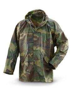 GI Woodland Improved Wet Weather Rain Parka