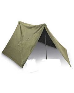 Complete Used GI Shelter Halves Pup Tent