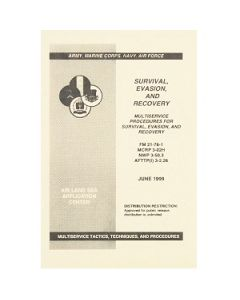 Survival Evasion and Recovery Manual JUNE 1999 FM 21-76-1