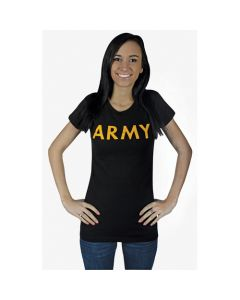 Women's Cotton Tee Army