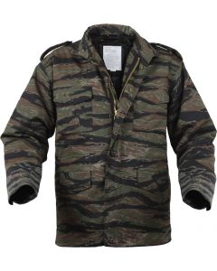 Military Style M65 Tiger Stripe Field Jacket