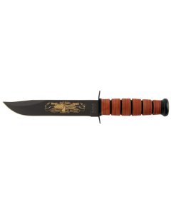 KA-BAR USMC Pearl Harbor with Leather Sheath
