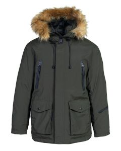 Schott Nylon Down-Filled Hooded Parka