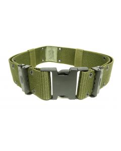 GI LC2 Nylon Pistol Belt OD Green Used