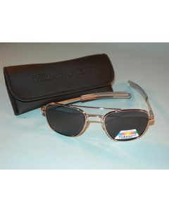 Humvee Pilot Sunglasses With Case