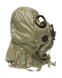 GI M17 3 Hole Gas Mask Chemical Hood
