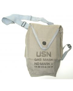 GI US Navy ND Mark V Gas Mask Carrier Bag