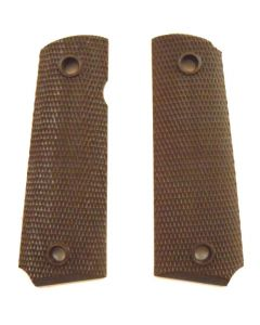 1911 A1 Plastic 45 Auto Grips (Brown)