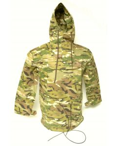 Multicam Anorak Pull Over Hooded Jacket