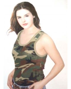 Women's Woodland Camo Tank Top