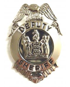 Deputy Sheriff Badge - Small