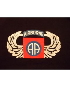 82nd Airborne With Wings T Shirt