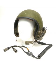 GI Combat Vehicle Crewman Helmet with Communication Cables