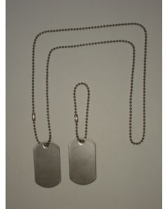 BLANK VIETNAM / CURRENT DOG TAG SET