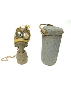 WW2 French TC-38 Gas Mask & Case
