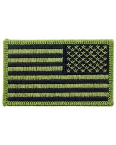 Uniform Flag Patch USA RECT OD Subdued Right Arm
