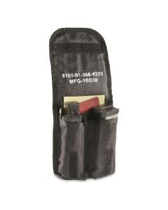 Used GI Black AN/PAQ-4 General Purpose Pouch