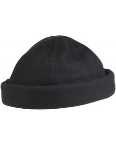 Dorfman Pacific Men's Melton Beanie Watch Hat Black
