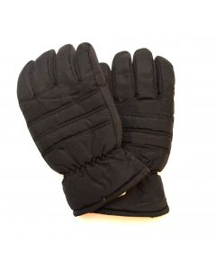 Mens Black Thinsulate Gloves