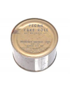 GI Vietnam Era C Ration Pecan Cake Roll