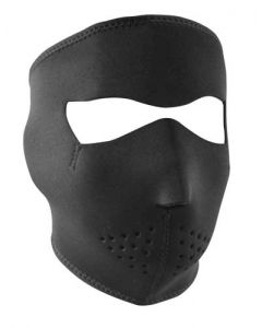 Black Neoprene Face Mask