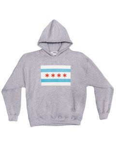 Chicago Flag Pullover Hoodie