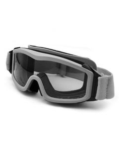 Military Style Goggles with Mesh Ballistic Lens