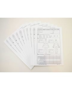 Tactical Combat Casualty Care Cards 10 Pack
