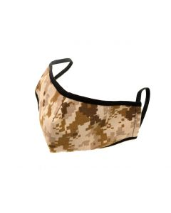 US Made Face Mask Desert Digital Camoflage