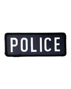 Police Iron On Patch