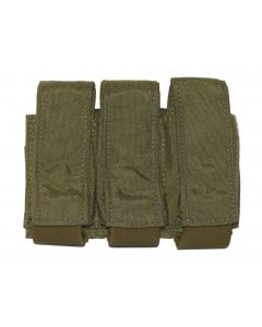 Coyote 9mm MOLLE 3 Mag Pouch