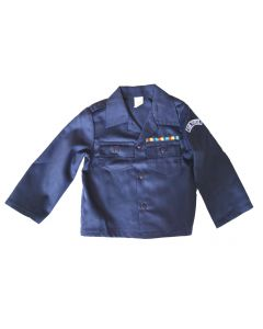 Kids Blue Air Force Fatigue Shirt