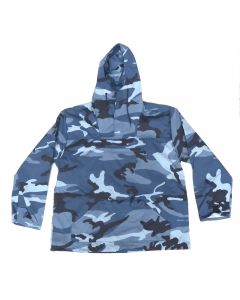 Anorak Pull Over Hooded Jacket