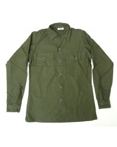 GI Fatigue Utility Shirt OG-107 Cotton Sateen