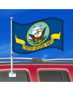 US Navy Car Flag