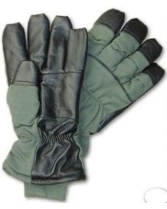 Used GI Nomex Flyers Gloves Intermediate Cold HAU-15/P