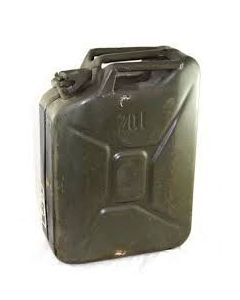 GI Used OD Nato 5 Gallon Jerry Can