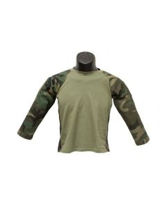 Kids Woodland Combat Battle Shirt