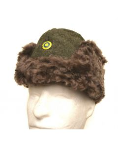 Swedish Military M43 Fur Hat